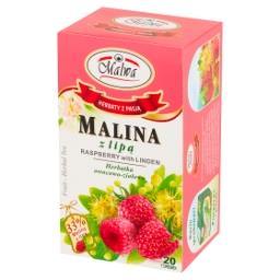 Malina z lipą Herbatka owocowo-ziołowa 40 g (20 torebek)