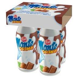 Monte Drink Napój mleczny 380 ml (4 sztuki)