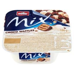 Mix Jogurt śmietankowy z wafelkami w czekoladzie