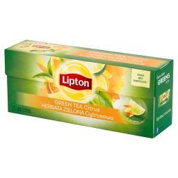 Herbata zielona cytrusowa  (25 torebek)