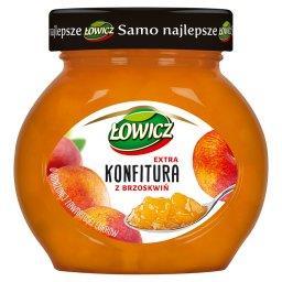 Konfitura extra z brzoskwiń o obniżonej zawartości c...