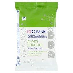 Super Comfort Chusteczki do higieny intymnej 10 sztuk