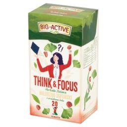 Think & Focus Herbata zielona miłorząb japoński z or...