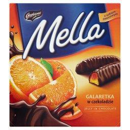 Mella Galaretka w czekoladzie o smaku pomarańczowym