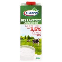 Bez laktozy Mleko UHT 3,5% 1 l