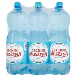 Cechini Naturalna woda mineralna gazowana 6 x 2 l