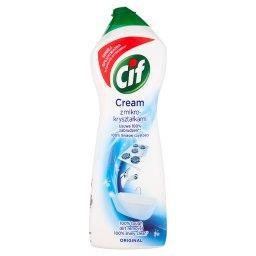 Cream Original z mikrokryształkami Mleczko do czyszc...
