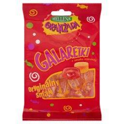 Oranżada Galaretki o smaku oranżady czerwone