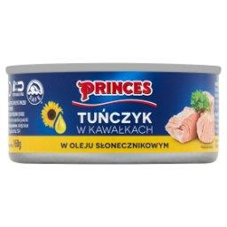 Tuńczyk w kawałkach w oleju słonecznikowym