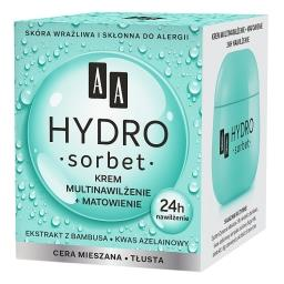 Hydro Sorbet krem multinawilżenie+matowienie cera mi...