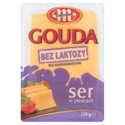 Gouda Ser bez laktozy w plastrach