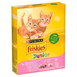 Junior Karma dla kotów z kurczakiem warzywami i mlekiem
