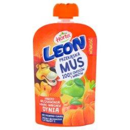 Leon Mus owocowo-warzywny jabłko brzoskwinia banan marchew dynia 100 g
