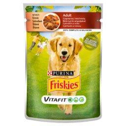 Vitafit Adult Karma dla psów z jagnięciną i marchewką w sosie