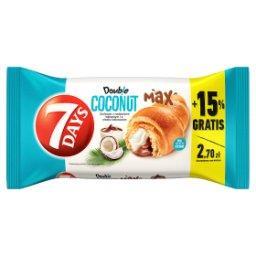 Doub!e Max Croissant z nadzieniem o smaku kakaowym i kokosowym