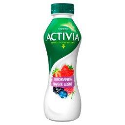 Activia Jogurt truskawka owoce leśne
