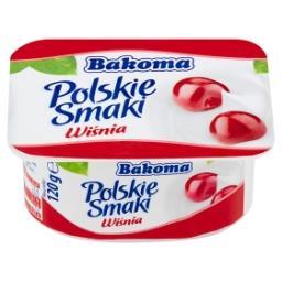 Polskie Smaki Deser jogurtowy z wiśniami