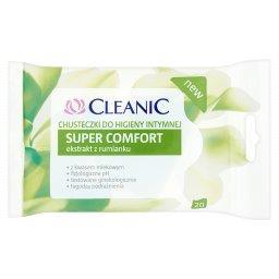 Super Comfort Chusteczki do higieny intymnej 20 sztuk