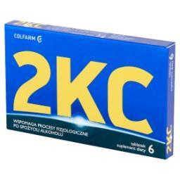 2KC Suplement diety  (6 tabletek)