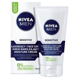 MEN Sensitive Łagodzący krem nawilżający do twarzy