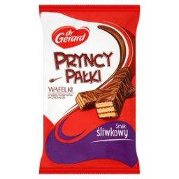 PryncyPałki Wafelki o smaku śliwkowym w czekoladzie