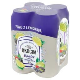 Radler Piwo z lemoniadą limonka z owocami leśnymi