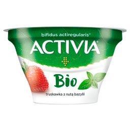 Activia Bio Jogurt truskawka z nutą bazylii