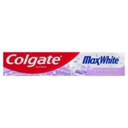 Max White Shine Crystals Pasta z fluorem