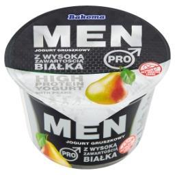 Men Pro Jogurt gruszkowy z wysoką zawartością białka