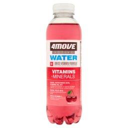 Active Water Magnez + Witaminy Napój niegazowany o smaku wiśniowym