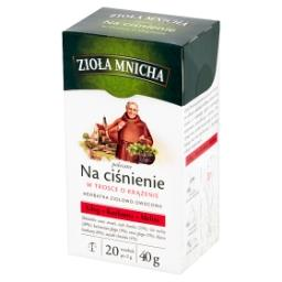 Zioła Mnicha Na ciśnienie Herbatka ziołowo-owocowa 40 g