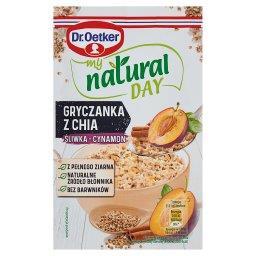 My natural day Gryczanka z chia śliwka-cynamon