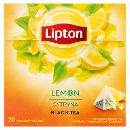 Herbata czarna aromatyzowana cytryna  (20 torebek)