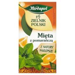 Zielnik Polski Mięta z pomarańczą Herbatka ziołowo-owocowa 30 g (20 saszetek)