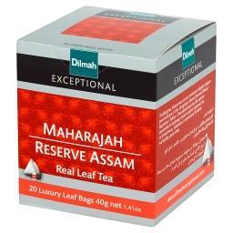 Exceptional Czarna indyjska herbata Assam 40 g (20 torebek)