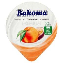Premium Jogurt z brzoskwiniami i marakują