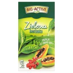 Zielona herbata papaja i jagody goji 34 g (20 torebe...