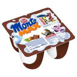 Monte Max Deser mleczny z czekoladą i orzechami 400 g (4 x )