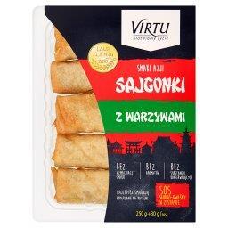 Smaki Azji Sajgonki z warzywami 250 g + sos słodko-kwaśny 30 g