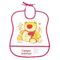 Śliniak plastikowy miękki canpol babies  2/919