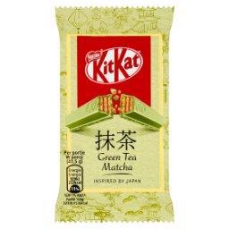 Green Tea Matcha Paluszek waflowy w białej czekoladz...