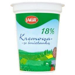 Kremowa ze śmietanką 18% Ukwaszona emulsja tłuszczowa