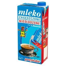 Mleko gostyńskie zagęszczone niesłodzone 7,5%