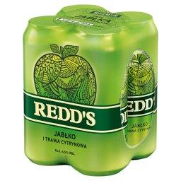 Piwo o smaku jabłka i trawy cytrynowej
