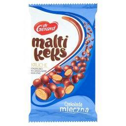 MaltiKeks Kruche ciasteczko w czekoladzie mlecznej