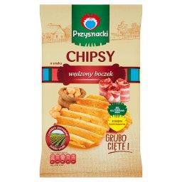 Chipsy o smaku wędzony boczek