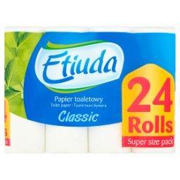 Etiuda Classic Papier toaletowy 24 rolki