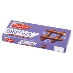 Briefing Ciastka w polewie z czekolady mlecznej