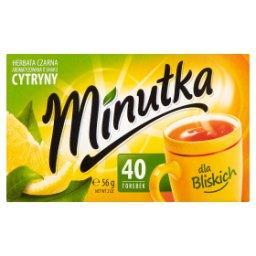 Herbata czarna aromatyzowana o smaku cytryny 56 g (40 torebek)