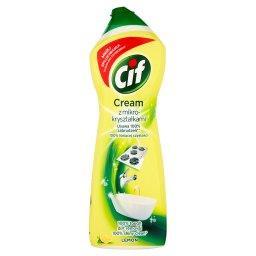 Cream Lemon z mikrokryształkami Mleczko do czyszczenia powierzchni